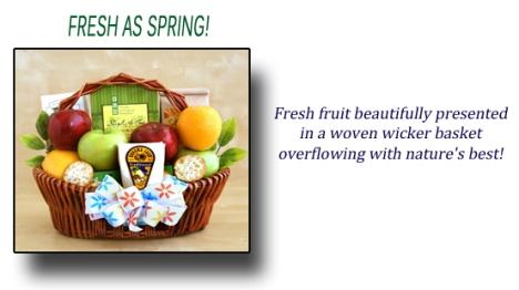 Fresh as Spring Gift Basket
