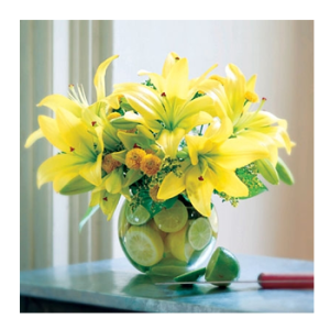 Lilies & Lemons arrangement from Peoples Flowers