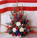 Patriotic Salute bouquet