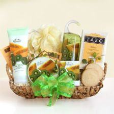 Kiwi spa basket