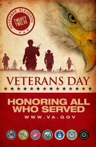 Veterans Day 2012 poster