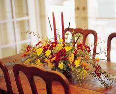 Autumn Home Centerpiece