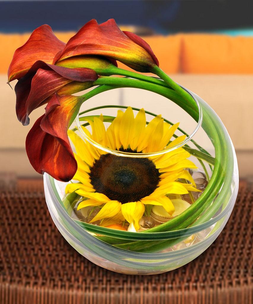 Цветочные композиции в вазе своими руками